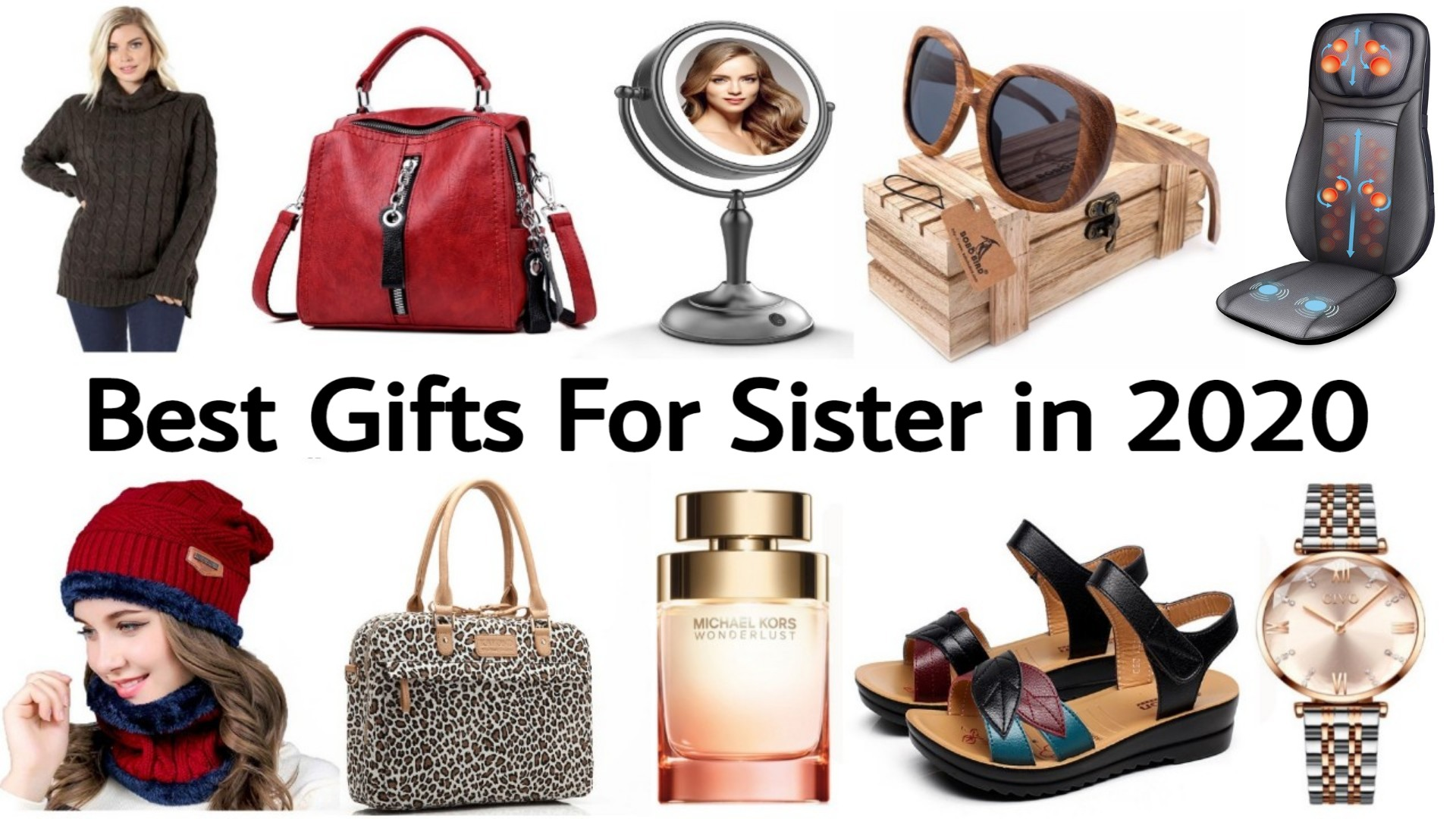 Best Christmas Gifts for Sister 2020 | Best Birthday Gifts for Sister 2020