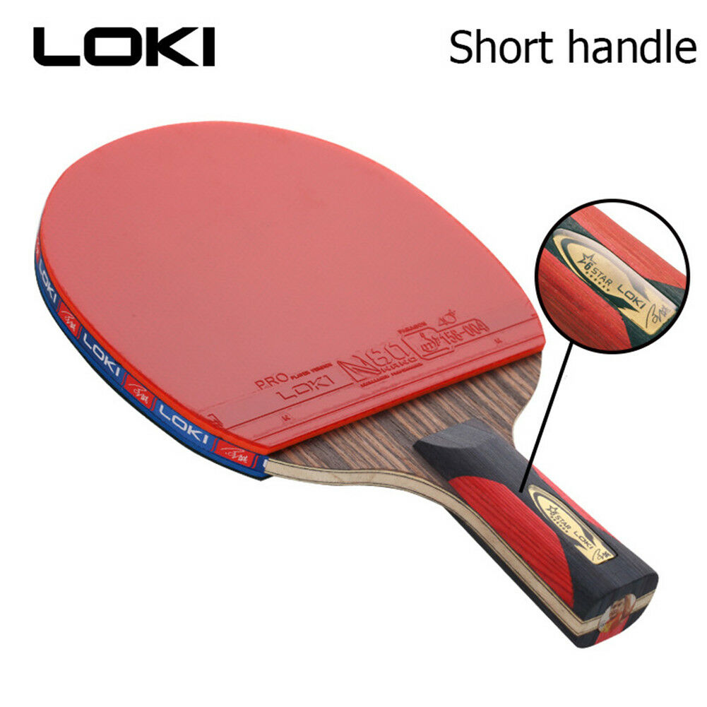 Short Handle Ping Pong Table Tennis Racket