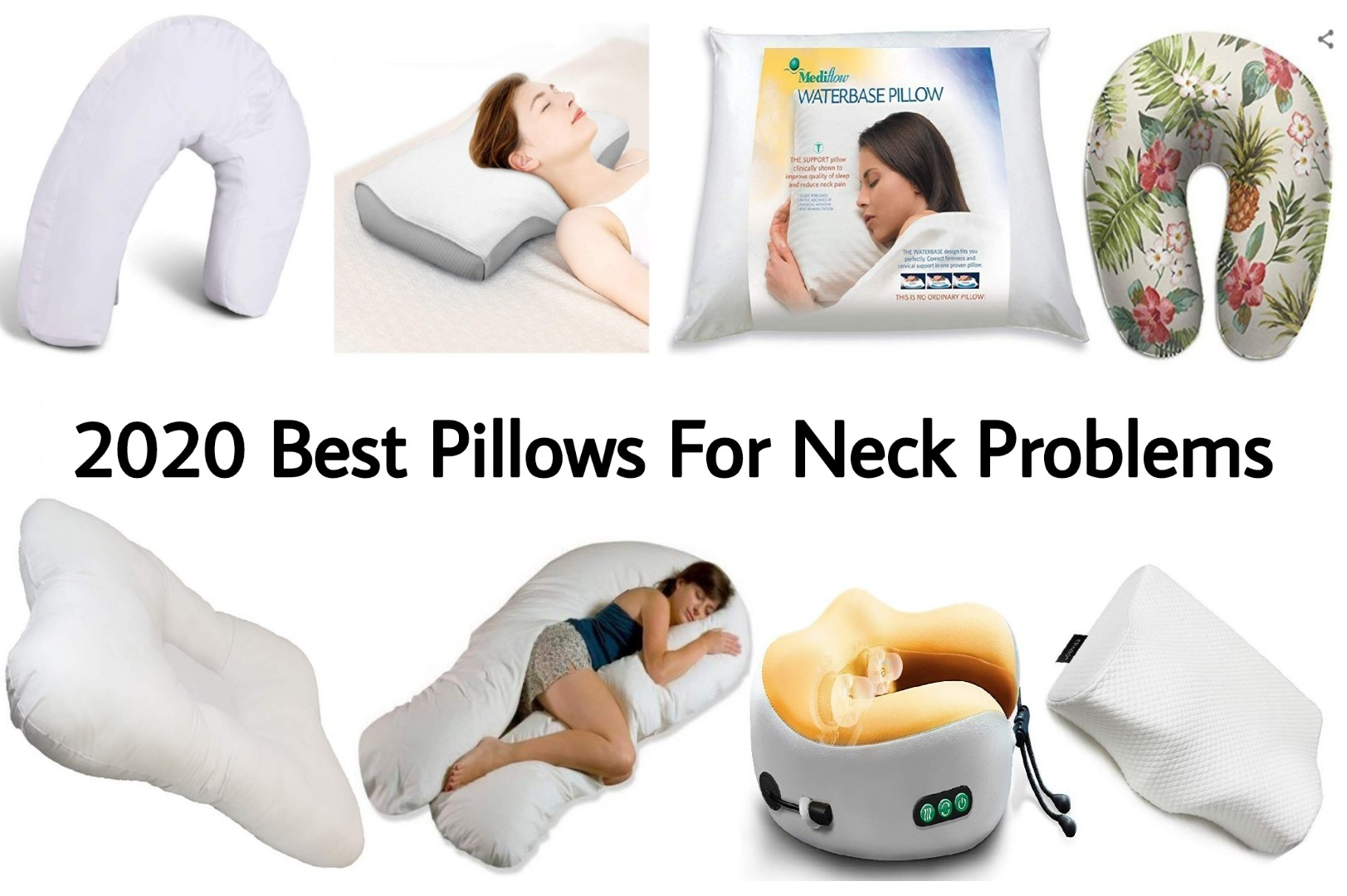 Best Pillows for Neck Pain 2019 – 2020 | Top Pillows for Neck Problems
