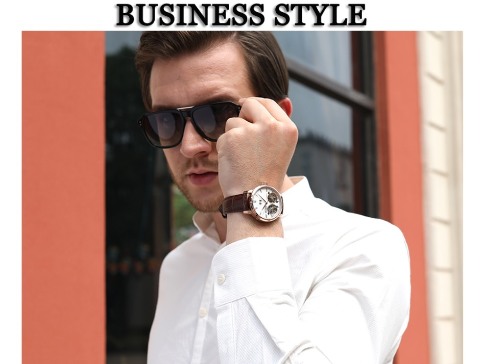 Business Style Unique Wrist Watch for Men 2021