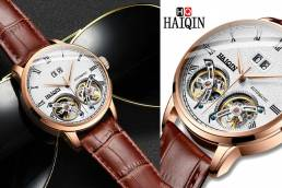 HAIQIN DOuble Tourbillon Wrist Watch 2019 - 2020