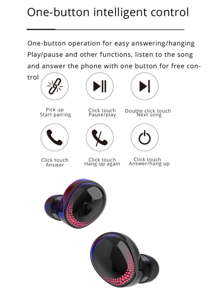 2020 Best Wireless Headset with Touch Control Features