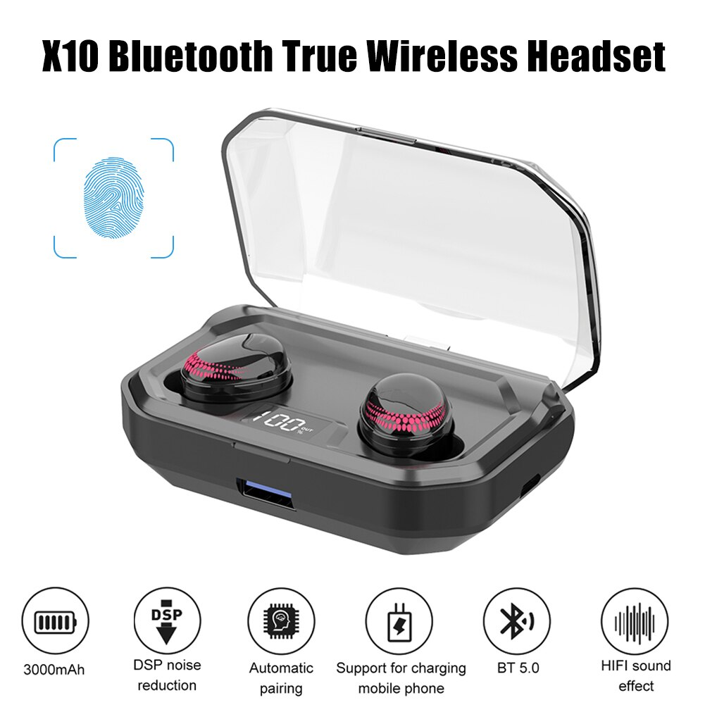 X10 True Wireless Headset 2020