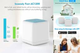 2020 HALO Base Wavlink AC1200 Dual-band Whole Home WiFi Mesh System Review