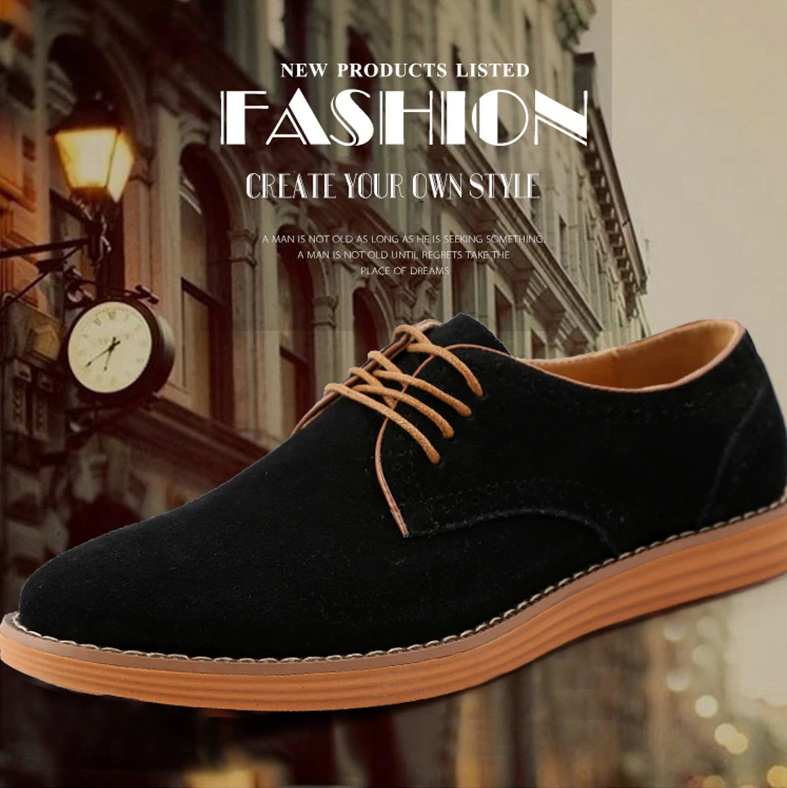 Best Suede Leather SHoes for Spring and Autumn 2020