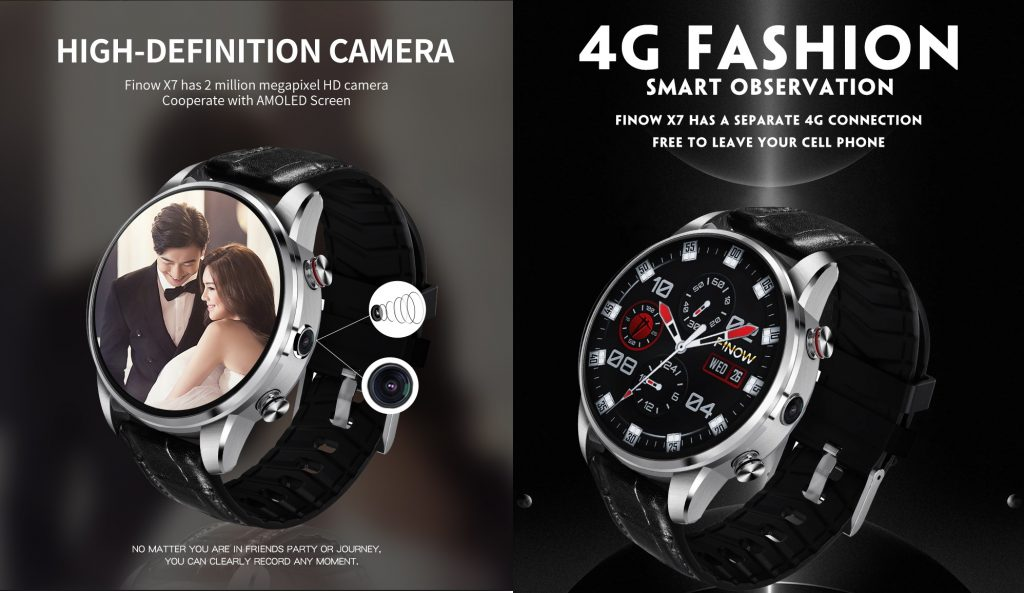 Finow X7 4 G Smart Watch - A Nice Birthday Gift for Women