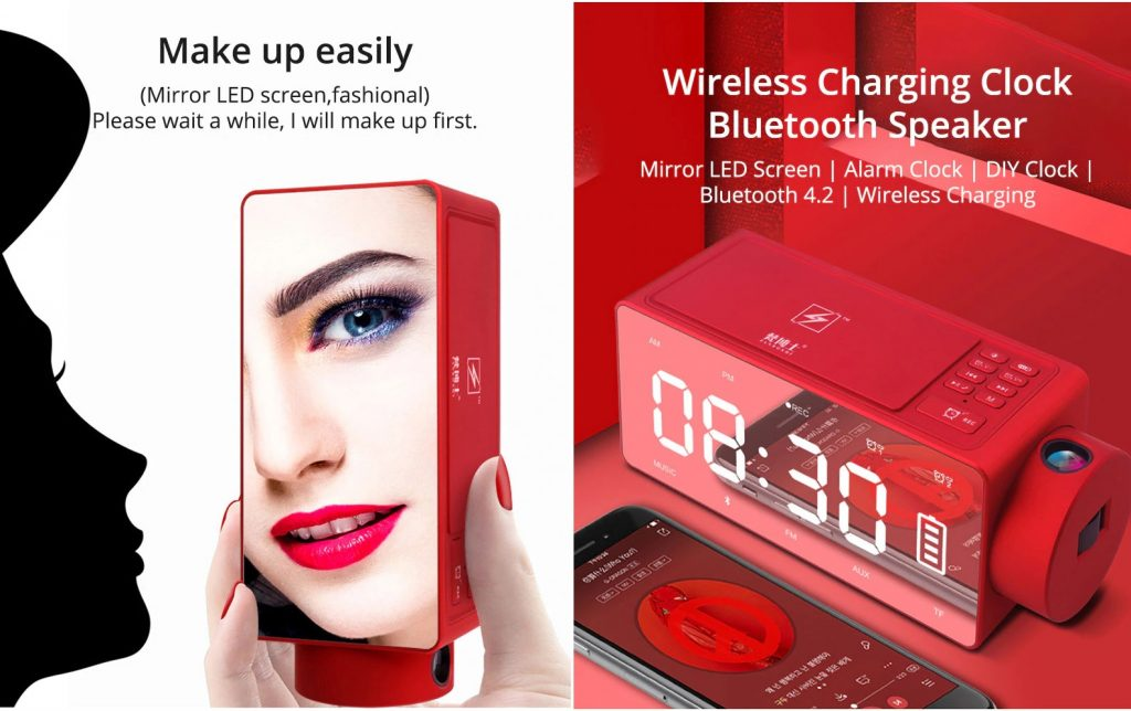 wireless charging alarm clock - The Best Gift for Women in 2020