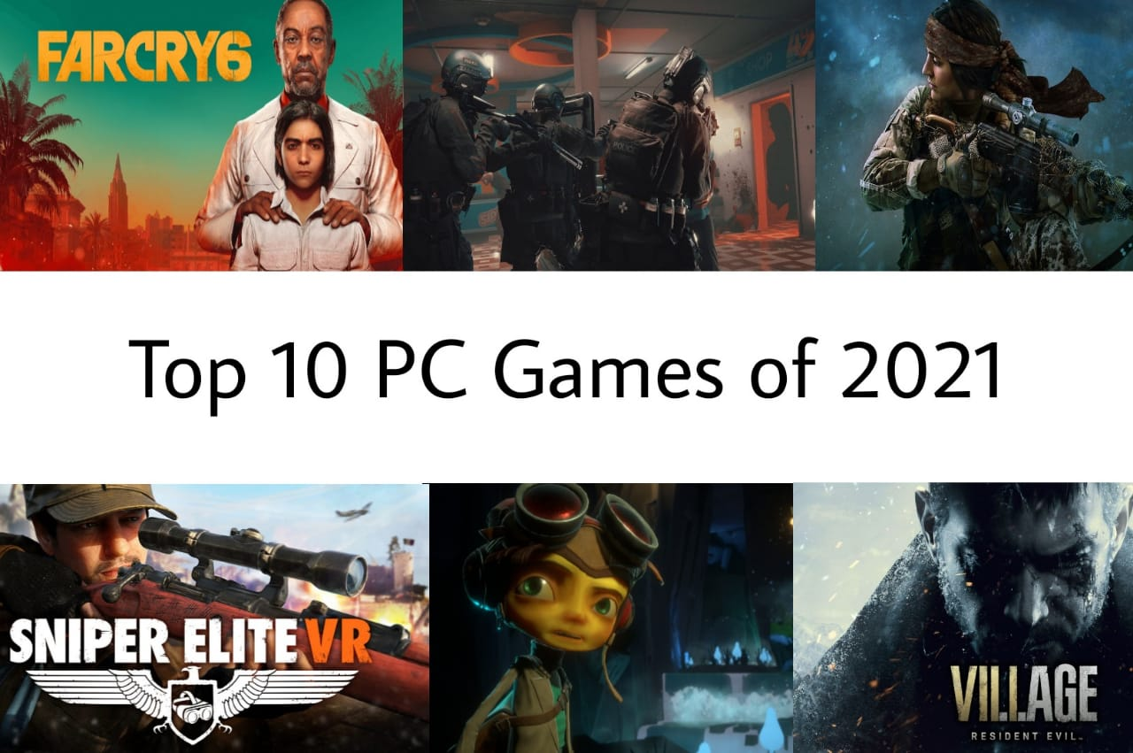 Top 10 PC Games of 2021